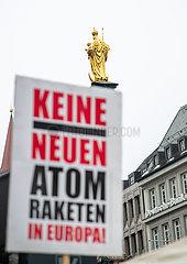 Protest: Lockdown für die Rüstungsindustrie