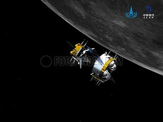 (EyesonSci) CHINA-BEIJING-SPACECRAFT-ORBITER-RETURNER COMBINATION-ASCENDER-SEPARATION (CN)