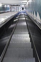 U-Bahn-Station Messehallen  Hamburg