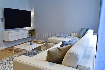 modern eingerichtete Wohnung