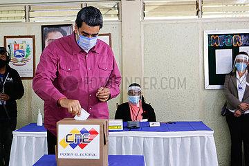 VENEZUELA-CARACAS-LEGISLATIVE ELECTION