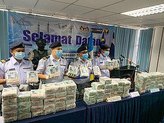 MALAYSIA-PENANG-NARCOTICS-SEIZURE