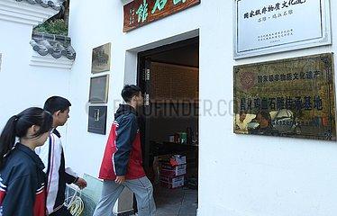 (ZhejiangPictorial) CHINA-ZHEJIANG-Changhua-JIXUE STEINSCHNITZEN (CN)