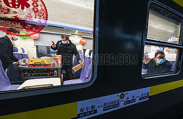 CHINA-XINJIANG-QINGHAI-RAILWAY-OPERATION (CN)