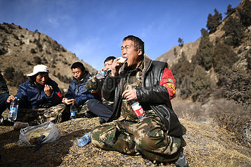 CHINA-QINGHAI-QILIAN MOUNTAINS-ENVIRONMENTAL PROTECTION-RANGERS (CN)