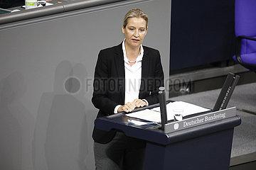 Debatte  Bundestag  Reichstagsgebaeude  9. Dezember 202