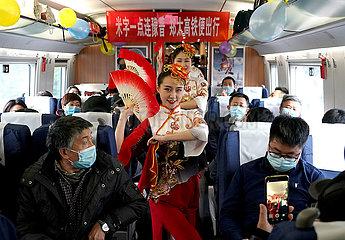 CHINA-HENAN-ZHENGZHOU-RAILWAY-OPERATION (CN)