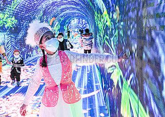 CHINA-XINJIANG-URUMQI-SZENISCHER SPOT-Entertainment (CN)