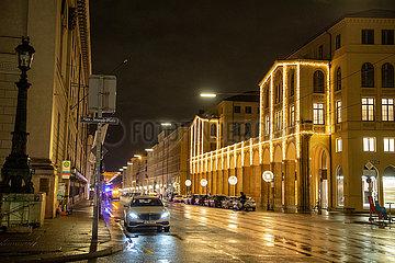 Nächtliche Ausgangssperre in München