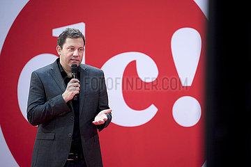 Lars Klingbeil  digital debate camp SPD
