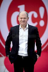 Olaf Scholz  digital debate camp SPD