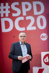 Norbert Walter-Borjans  digital debate camp SPD
