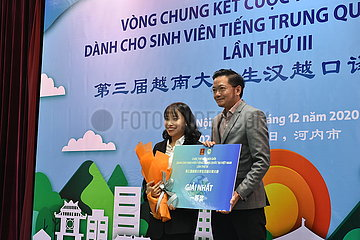 VIETNAM-HANOI-CHINESE-VIETNAMESE INTERPRETATION CONTEST