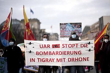 Tigray Aethiopien Demo