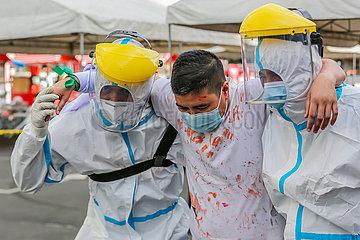 PHILIPPINEN-QUEZON-Simulationsübung-ANTI-TERRORISM BOMBING PHILIPPINEN-QUEZON-Simulationsübung-ANTI-TERRORISM BOMBING PHILIPPINEN-QUEZON-Simulationsübung-ANTI-TERRORISM BOMBING