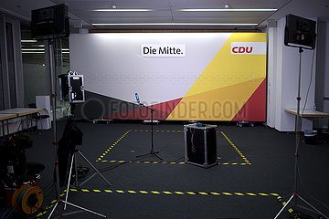 CDU Candidacy For CDU Leadership