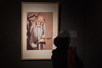 CHINA-GUIZHOU-GUIYANG LAO-ZI-Ausstellung (CN)