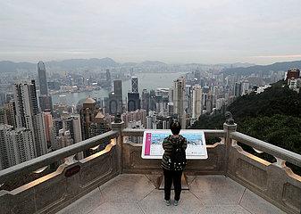 CHINA-Hongkong COVID-19-Tourismus (CN)