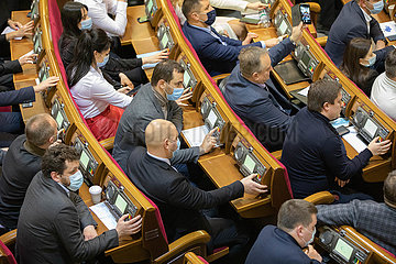 UKRAINE-KIEV-PARLAMENT-STATE BUDGET-ZULASSUNG