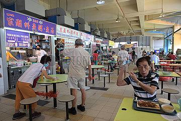 SINGAPUR-HAWKER KULTUR-UNESCO-Immaterielles Kulturerbe