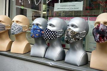 Symbolbild: Masken  Mund-Nase-Masken  Coronavirus  Covid19