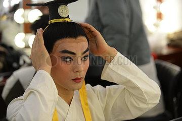 CHINA-HEBEI-Theateraufführung (CN)