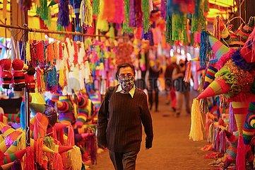 MEXIKO-MEXIKO-STADT-COVID-19 MEXIKO-MEXICO CITY-COVID-19