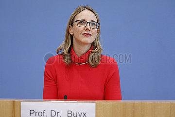 Bundespressekonferenz zum Thema: Mindestmass sozialer Kontakte in der Langzeitpflege waehrend der Covid-19-Pandemie - Empfehlung des Deutschen Ethikrates