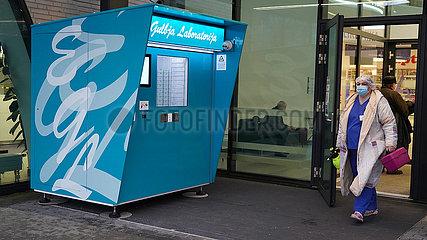 LETTLAND-LABOR-MACHINE-KONTAKTLOS medizinische Tests
