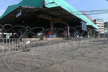 THAILAND-Samut Sakhon-Seafood Market-COVID-19-FÄLLE