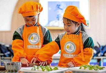 CHINA-HEBEI-Dongzhi-CHILDREN-DUMPLINGS (CN)