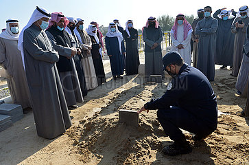 KUWAIT-CAPITAL GOVERNORATE-EHEMALIGE Erster Stellvertreter des PM-FUNERAL