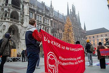 Kunst- und Kulturschaffende demonstrieren für mehr Unterstützung