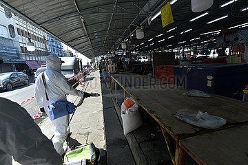 THAILAND-Samut Sakhon-COVID-19-AUSBRUCH