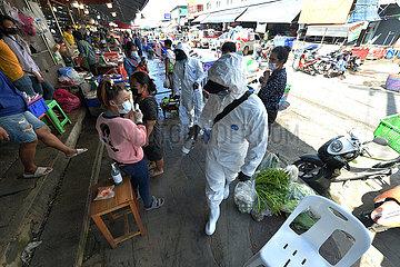 THAILAND-SAMUT Sakhon-COVID-19-OUTBREAK THAILAND-SAMUT Sakhon-COVID-19-OUTBREAK
