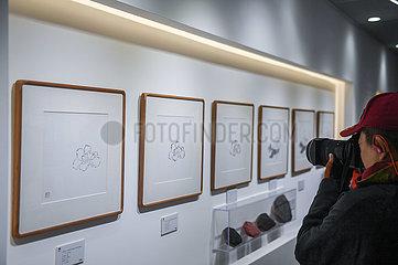 CHINA-ZHEJIANG-Hangzhou-Holzschnitt-ART MUSEUM-WITH COLLABORATION HOTEL (CN) CHINA-ZHEJIANG-Hangzhou-Holzschnitt-ART MUSEUM-WITH COLLABORATION HOTEL (CN)