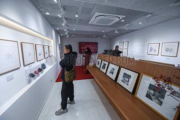 CHINA-ZHEJIANG-Hangzhou-Holzschnitt-ART Museum COLLABORATION MIT HOTEL (CN) CHINA-ZHEJIANG-Hangzhou-Holzschnitt-ART Museum COLLABORATION MIT HOTEL (CN) CHINA-ZHEJIANG-Hangzhou-Holzschnitt-ART Museums COLLABORATION WITH HOTEL (CN)