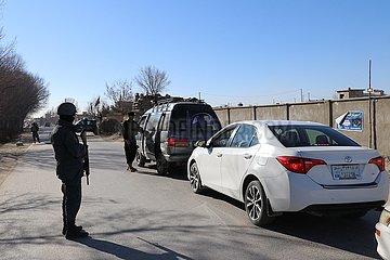 AFGHANISTAN-Ghazni-Sicherheitsprüfpunkt-JOURNALIST-ATTACK