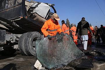 (SpotNews) AFGHANISTAN-KABUL-BLAST