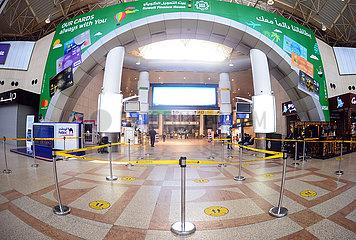 KUWAIT-Farwaniya GOVERNORATE-COVID-19-AIRPORT-FLUG-SUSPENSION
