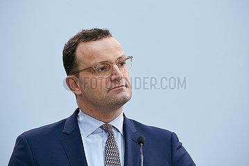 Berlin  Deutschland - Jens Spahn  Bundesminister fuer Gesundheit.