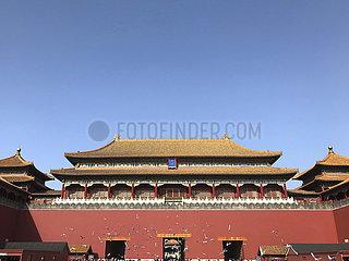 (BeijingCandid) CHINA Beijing-PALACE Museum 600 Jahre-FOUR Jahreszeiten (CN)