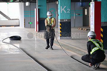 CHINA-HAINAN-HAIKOU MEILAN Int'l Airport-5G NETWORK-CONSTRUCTION (CN) CHINA-HAINAN-HAIKOU MEILAN Int'l Airport-5G NETWORK-CONSTRUCTION (CN)
