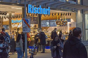 Baeckerei Rischart  Marienplatz Muenchen  13.10.2020