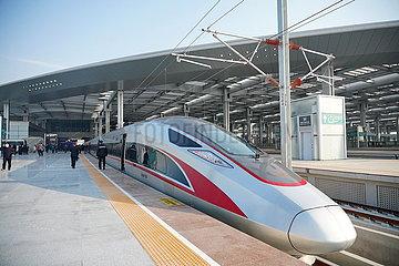CHINA Beijing-XIONG'AN-INTERCITY-RAILWAY-OPERATION (CN) CHINA Beijing-XIONG'AN-INTERCITY-RAILWAY-OPERATION (CN) CHINA Beijing-XIONG'AN-INTERCITY-RAILWAY-OPERATION (CN) CHINA- BEIJING-XIONG'AN-INTERCITY-RAILWAY-OPERATION (CN)