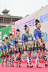 # CHINA-GUIZHOU-Congjiang-DONG ethnischer Gruppe-CHOR Wettbewerb (CN)
