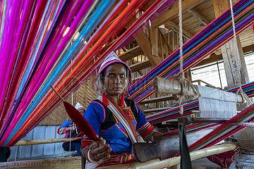 CHINA-YUNNAN-Jinuo ethnische Gruppe-Kultur (CN)