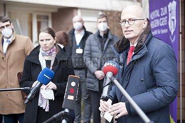 Erste Corona-Schutzimpfung in Hamburg