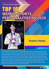 [GRAPHICS] TOP 10 WORLD Sportler IN 2020