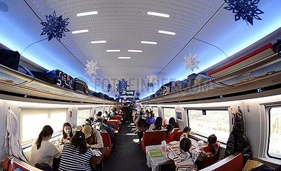 CHINA-PEKING-Zhangjiakou-High Speed ??Railway (CN)